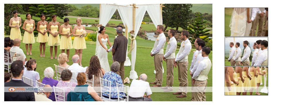 King Kamehameha Wedding